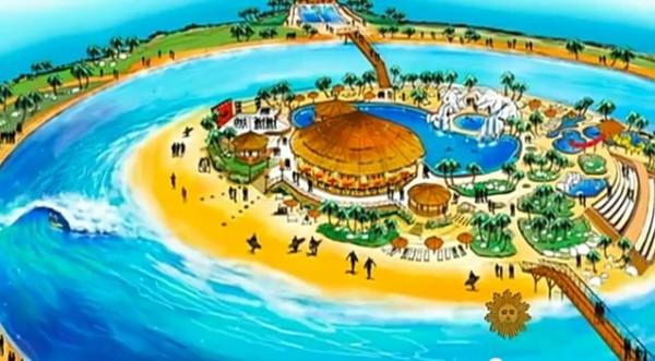 Kelly Slater Wave Co Surf Park Wave Pool Rendition