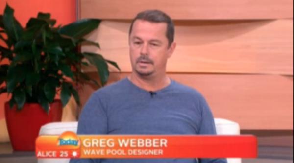 Greg Webber Interviewed on MSN Nine's Today Show