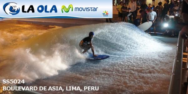 American Wave Machines Wave Pool near Lima Peru
