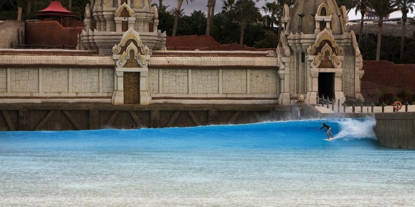 Wave Pool and Surf Park in Tenerife Spain