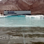Sally Fitzgibbons Wadi Adventure Wave Pool Project Poolside | Coach's Cam