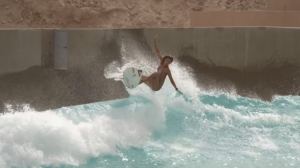 Sally Fitzgibbons Wadi Adventure Wave Pool Project Poolside | Boosting