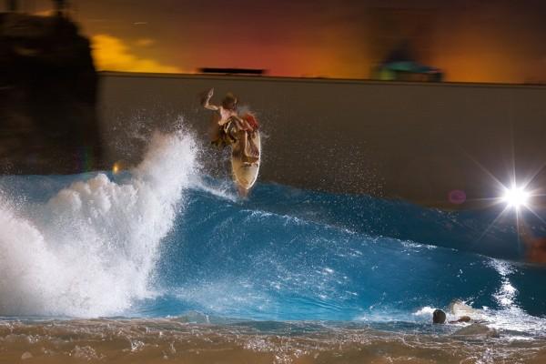 Owen Wright Boosting Airs at Ocean Dome in Miyazaki Japan Wave Pool
