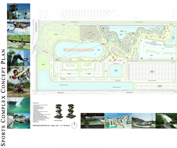 AcquaSol Adventure Sports Complex Proposed Master Plan Includes Surf Park