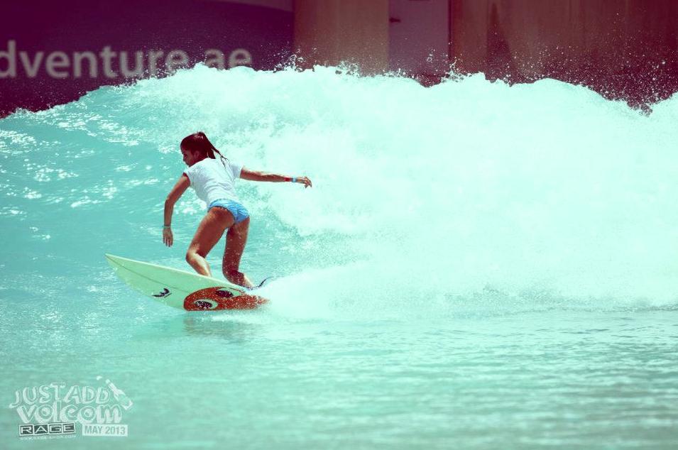 Bottom Turning Babe | Just Add Volcom Surf & Skate Jam