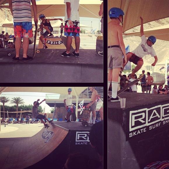 Rage Skaters   Volcom Surf & Skate Jam 2013