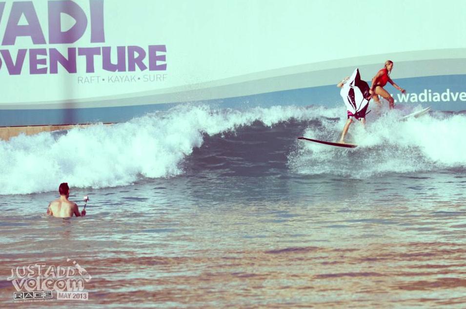 Volcom Stone Surfer | Volcom Surf & Skate Jam 2013 | Wadi Adventure Wave Pool