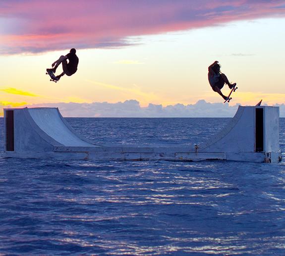 Skate Parks and Surf Parks