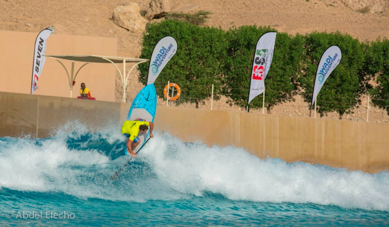 Abu Dhabi All Stars at Wadi Adventure Wave Pool April 2014