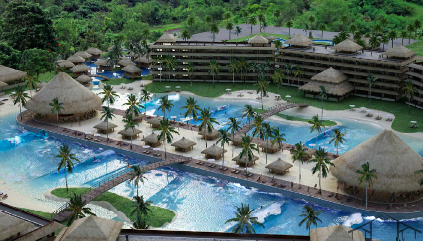 Endless Summer Resort PerfectSwell Surf Pool by Surf City Hui | Surf Park Central