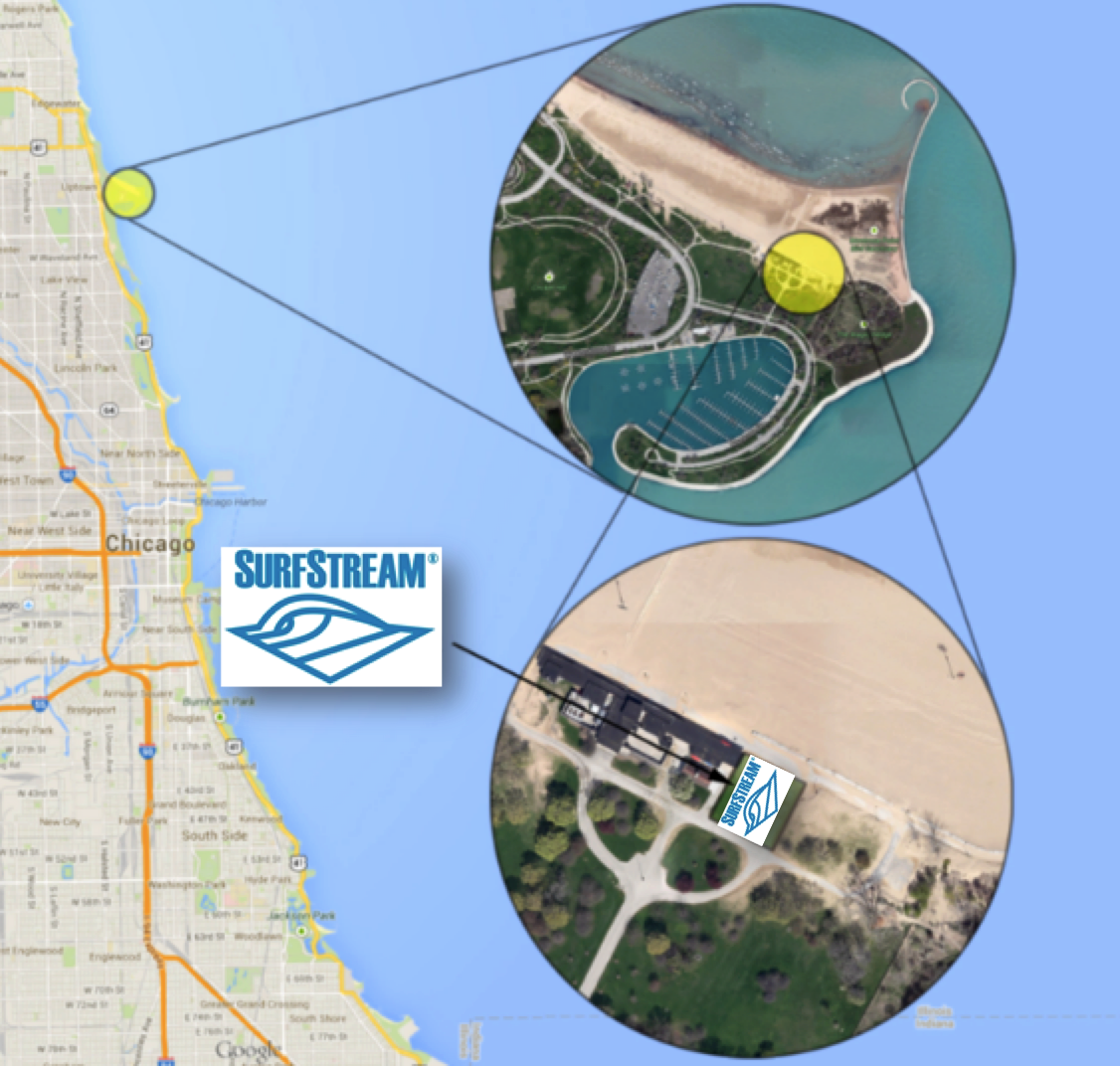 Chicago Surf Location at Montrose Beach | Surf Park Central