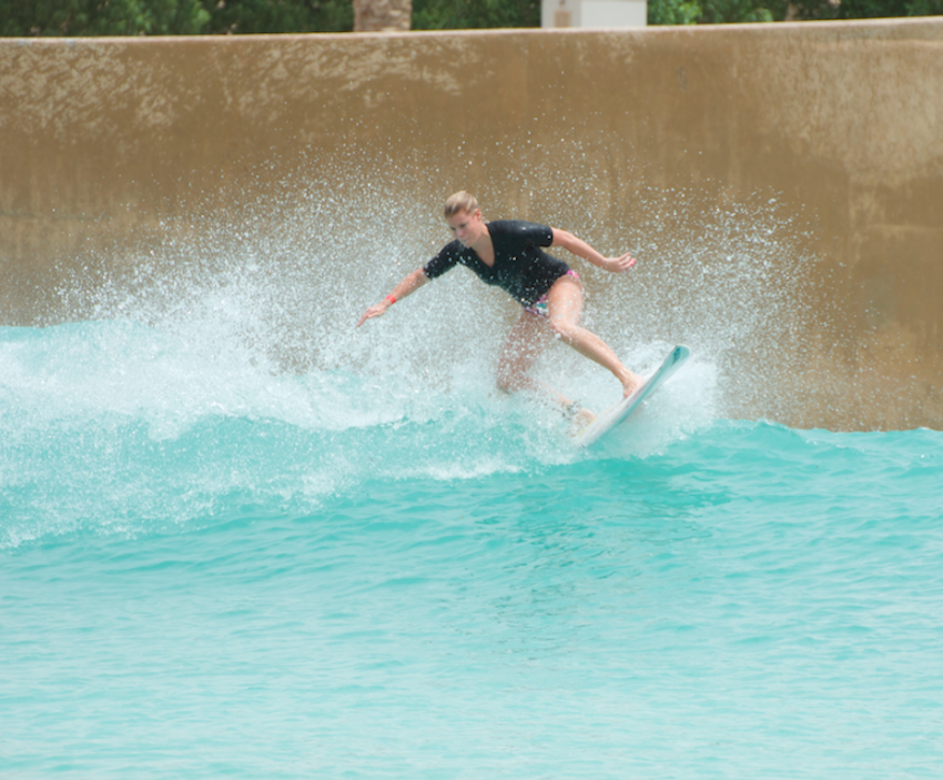 Donna Masing Girl Surf Network Learns to Surf in UAE