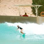 Donna Masing Surfing Wadi Adventure Wave Pool