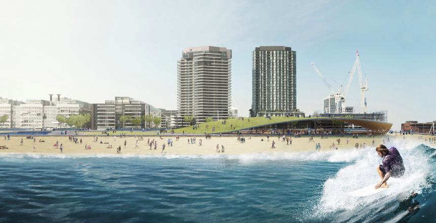 Docklands Surf Park in Melbourne CBD  | Surf Park Central