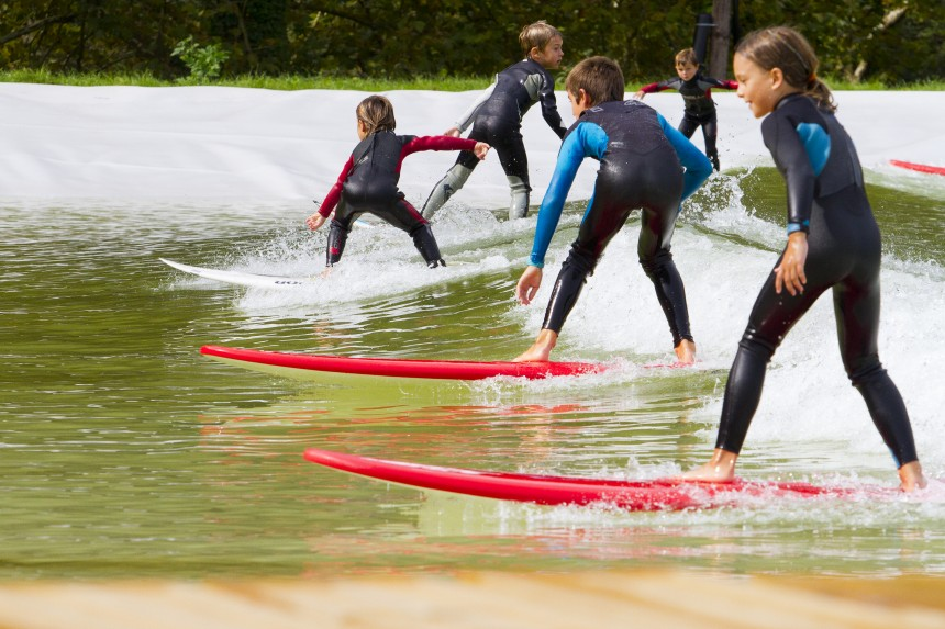 Beginner waves at Wavegarden prototype in Spain | Surf Park Central | Smorgasboarder Magazine