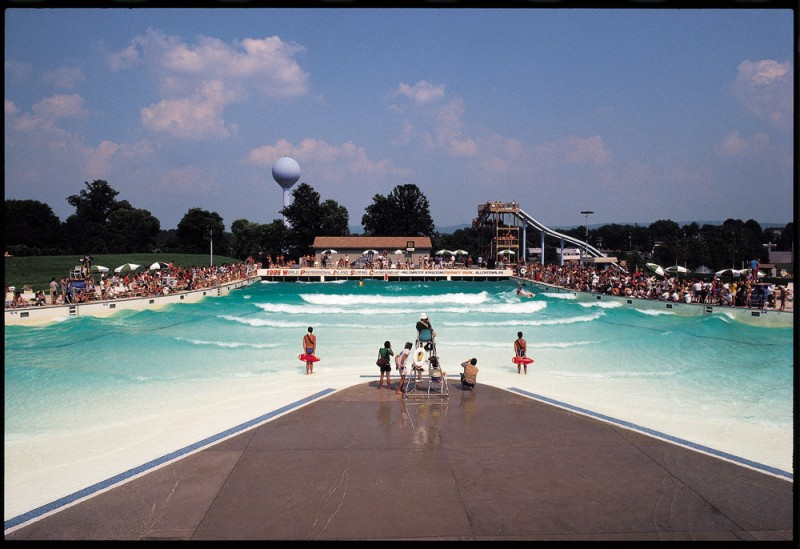 Dorney Park Host of the 1985 Inland Surfing Championships Won by Tom Carroll | Surf Park Central