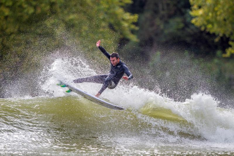 Joel Parkinson Surfing Wavegarden Surf Lagoon   Surf Park Central