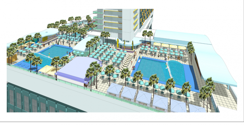 Skyplex's Sky Surf Deck coming to Orlando Florida in 2017