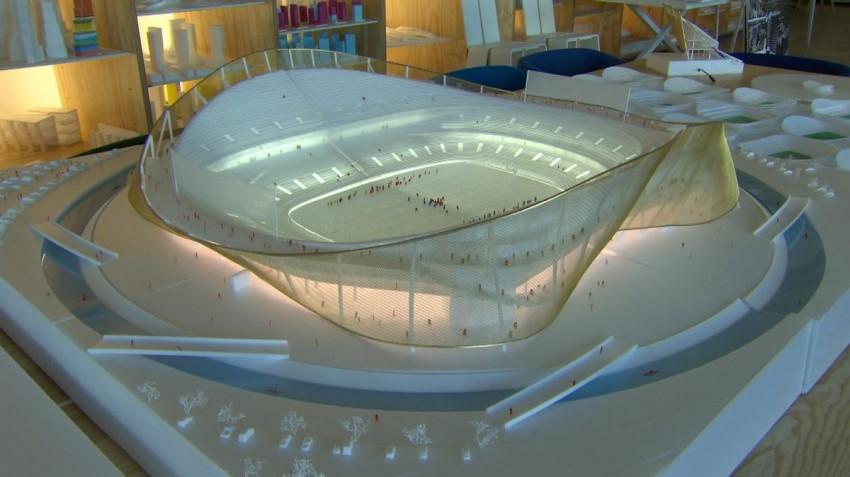 BIG Architects Surf Moat at Washington NFL Stadium   Surf Park Central