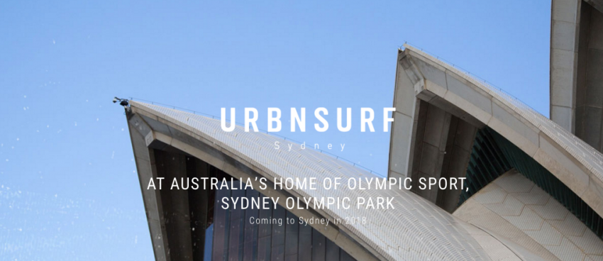 UrbnSurf Sydney Coming 2018 by Wave Park Group | Surf Park Central