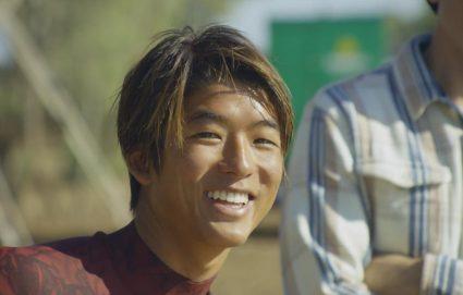 Kanoa Igarashi smiling | Slater Surf Ranch | Surf Park Central