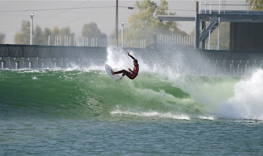 Kanoa Igarashi Top Turn at Kelly's Wave Pool