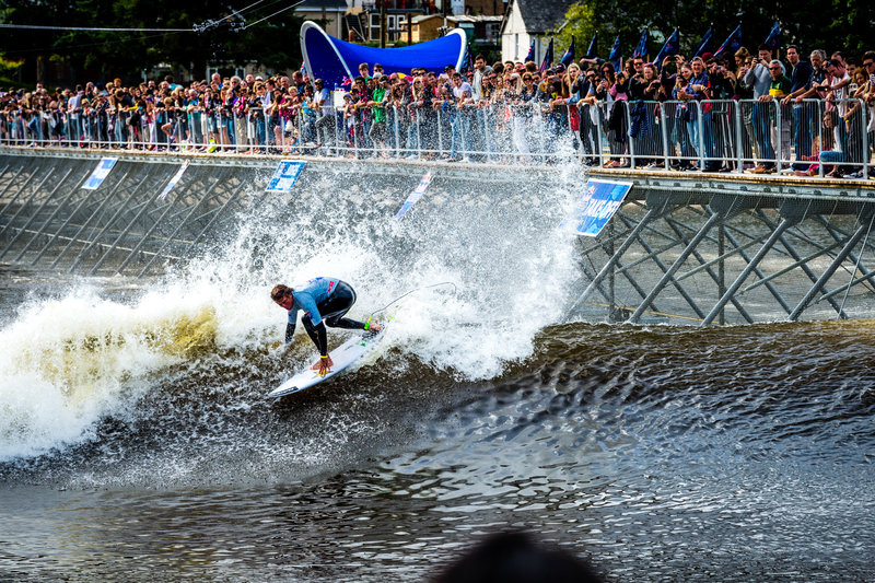 Albee Layer Red Bull Unleashed | Surf Park and Man-Made Waves by John Luff | Surf Park Central
