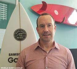 Mark Noonan World Surf League WSL | Surf Park Central
