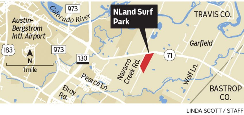 NLand Surf Park Location in Travis County | Surf Park Central