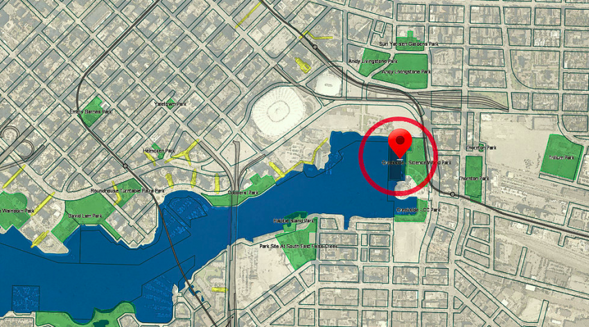 CitySurf Vancouver Proposed Site | Surf Park Central