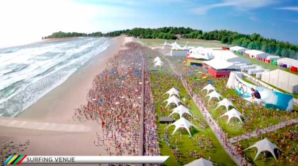 Olympic Surfing Official | Tokyo 2020 Beach Festival | Surf Park Central