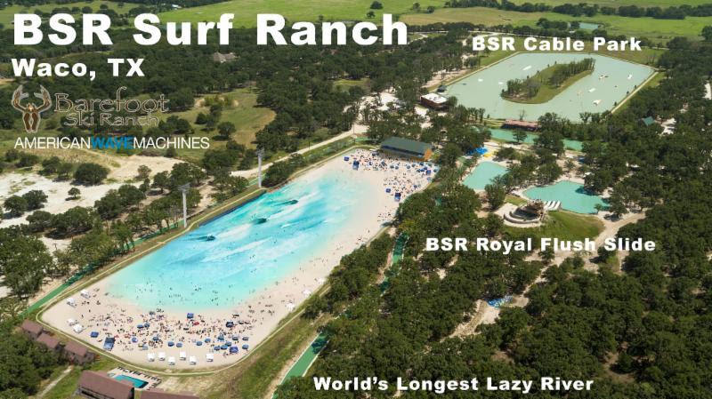 BSR Surf Ranch Texas by AWM | Surf Park Central