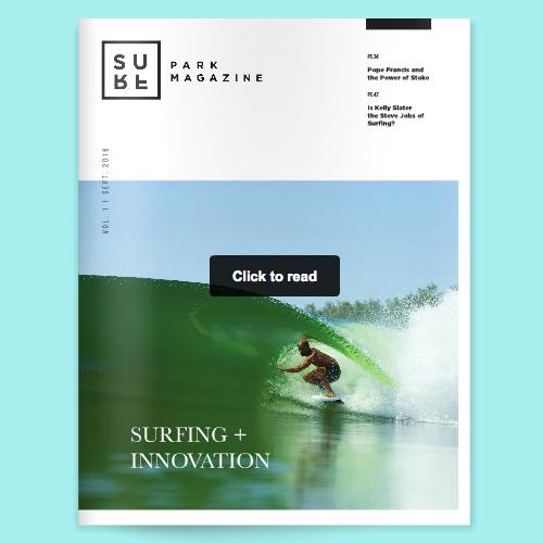 Surf Park Magazine Volume 1
