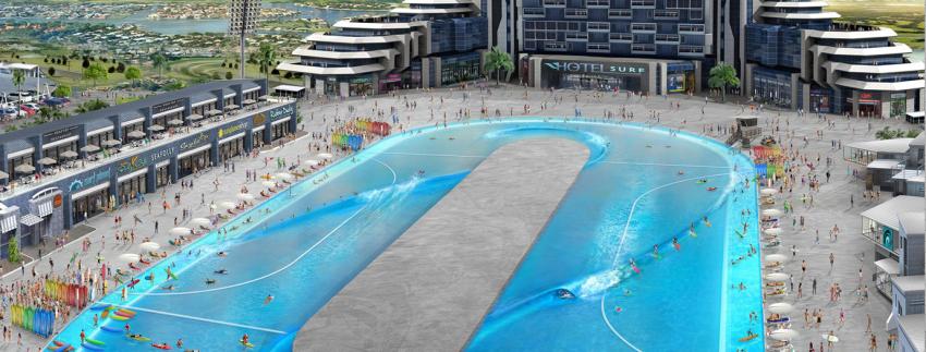 Webber Wave Pools Building First Pool