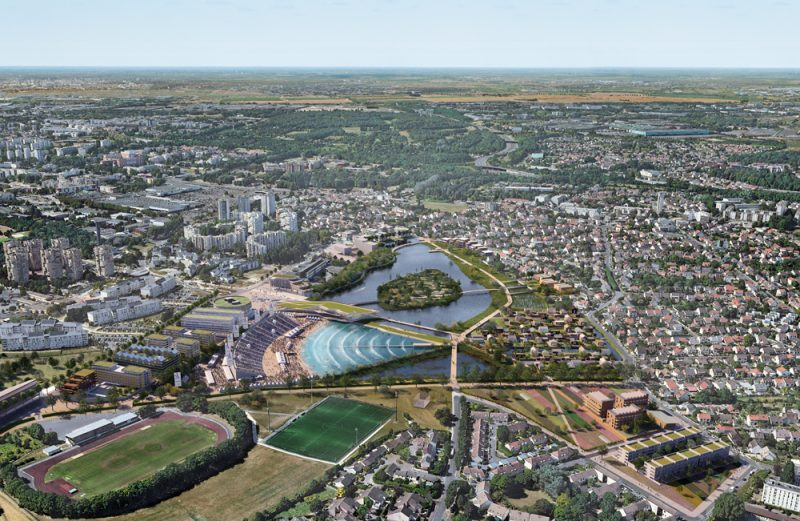 Sevran Project | TERRE D'EAUX project | Surf Park Central | Wave Pool | Wave Pools | Olympics 2020