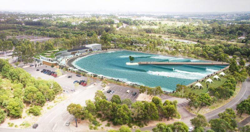 URBNSURF | surf park | Wavegarden | Wavegarden Cove | Sydney | Sydney Olympic Park
